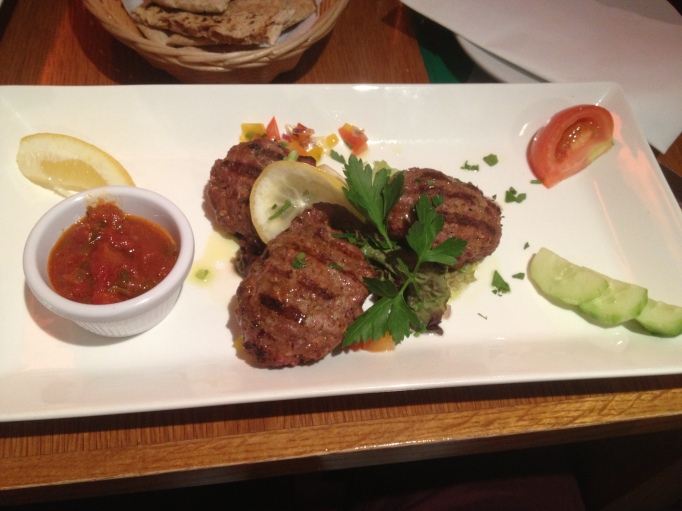 Image of Lamb Kofta at Olive Tree