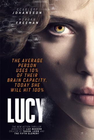Image of Lucy movie poster